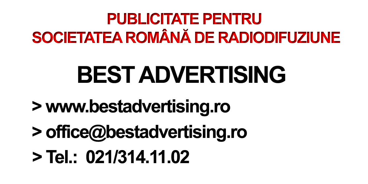 PUBLICITATE PENTRU S.R.R.
