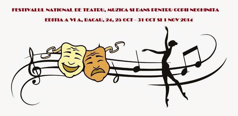 """Festivalul naţional de teatru, muzică şi dans pentru copii şi tineret """"NEGHINIŢĂ"""" 2014"""