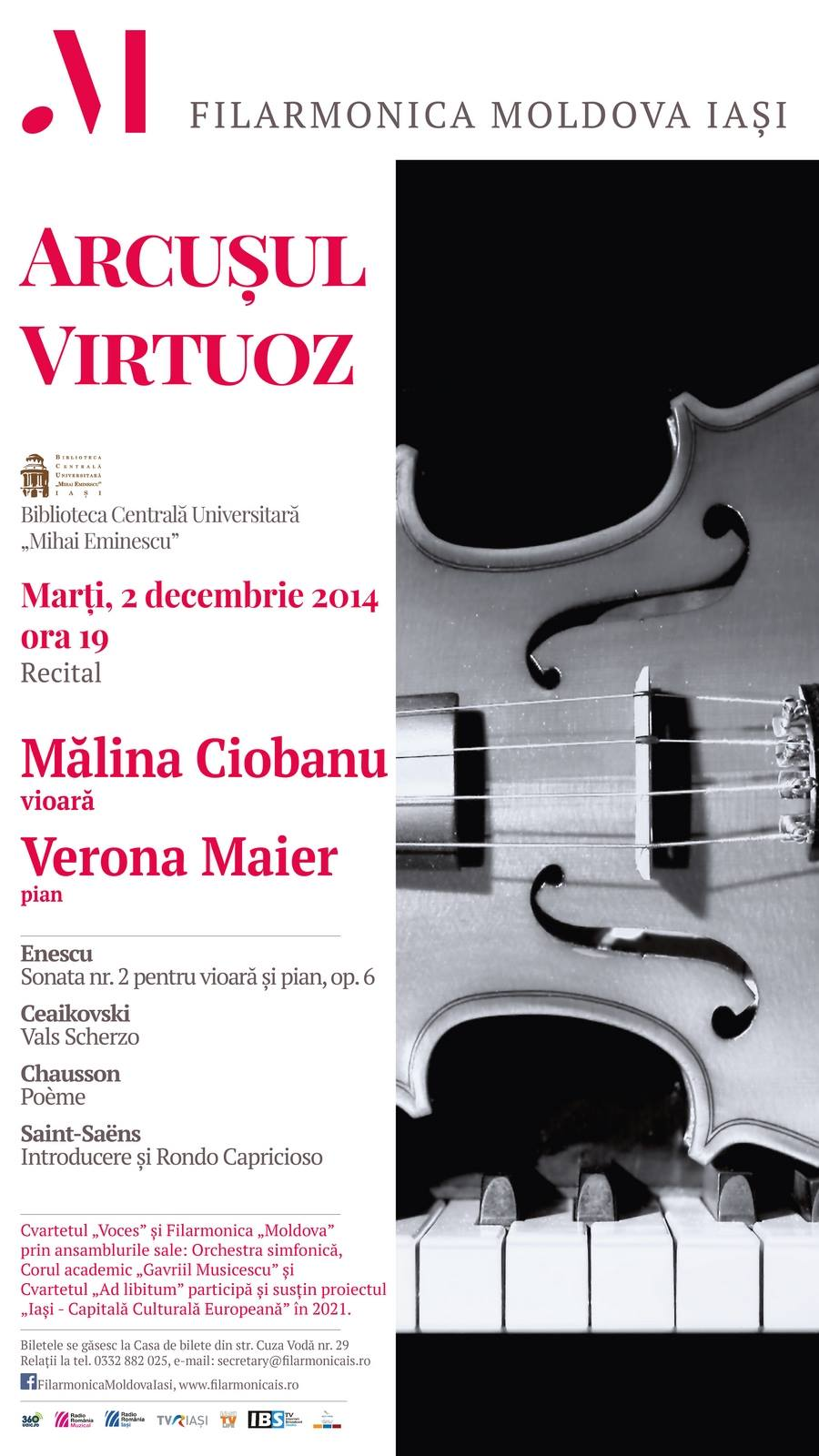 2dec2014 Recital Malina Ciobanu