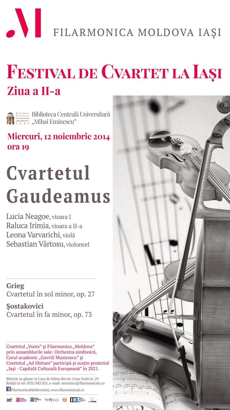 Concert Cvartet Gaudeamus Festival