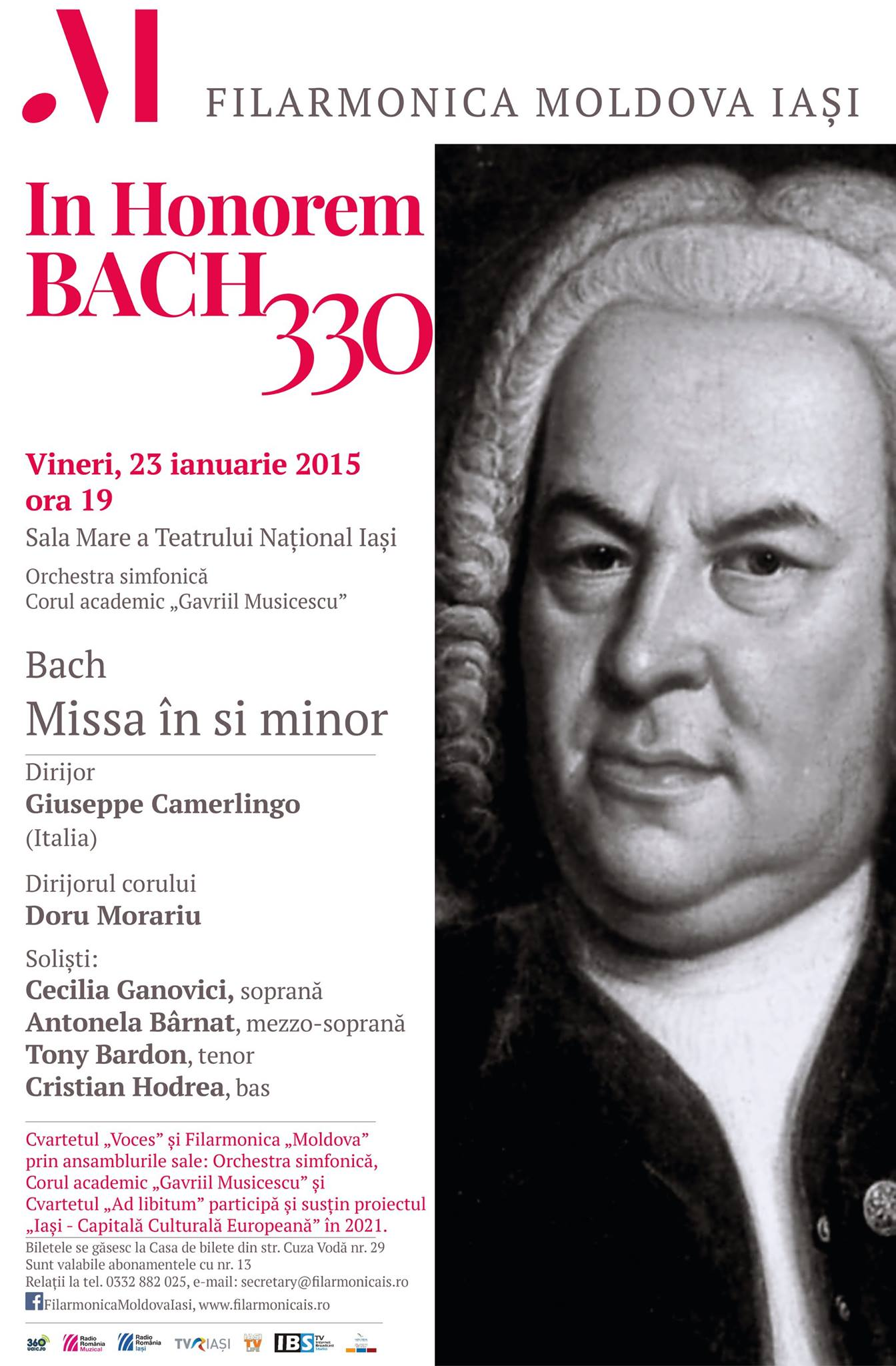 23 ian 2015 Bach 330 afis
