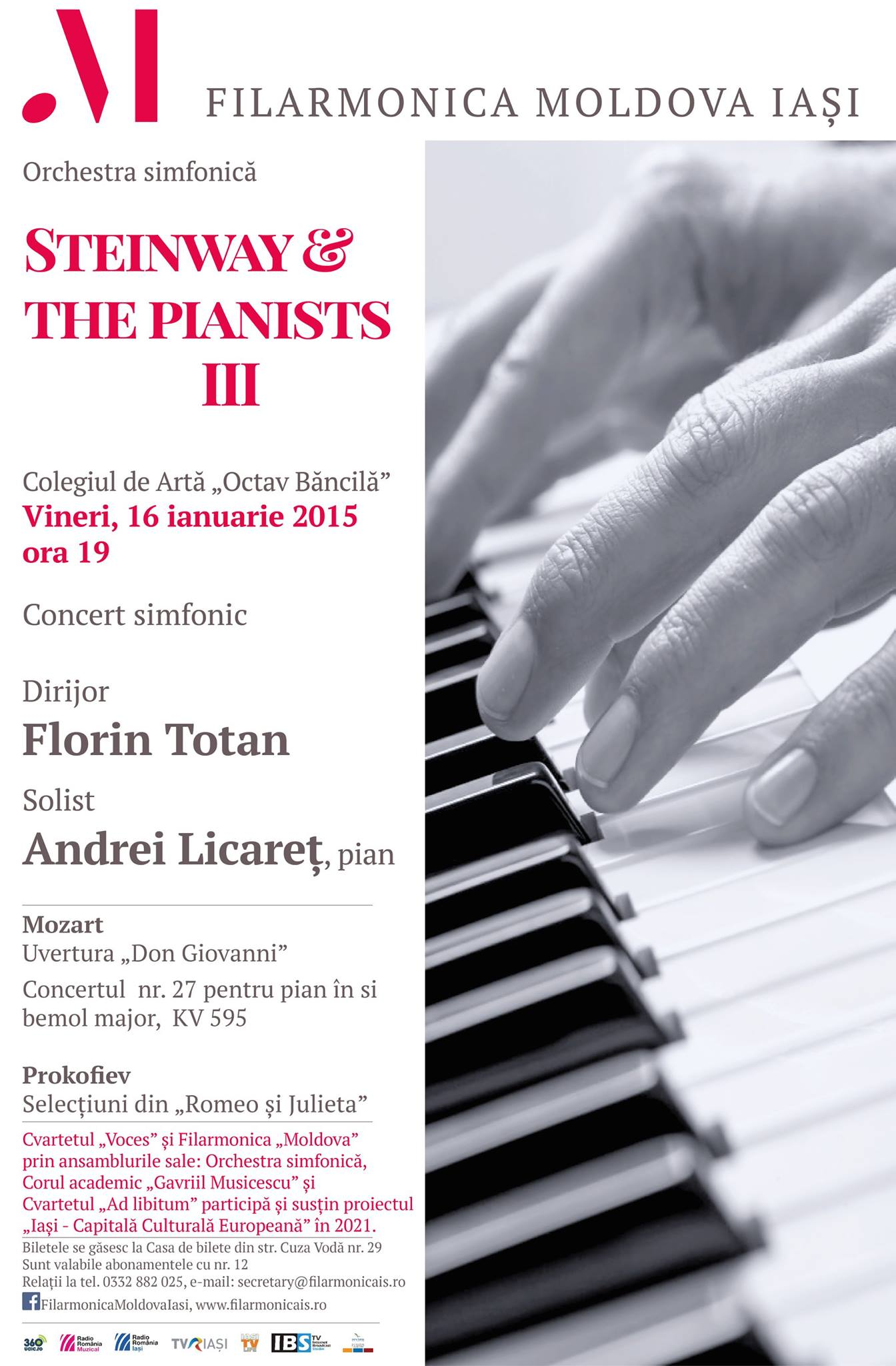 16 ian 2015 Filarmonica
