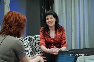 Petronela COTEA MIHAI - promovarea Campaniei Radio Iasi la TVR Iasi