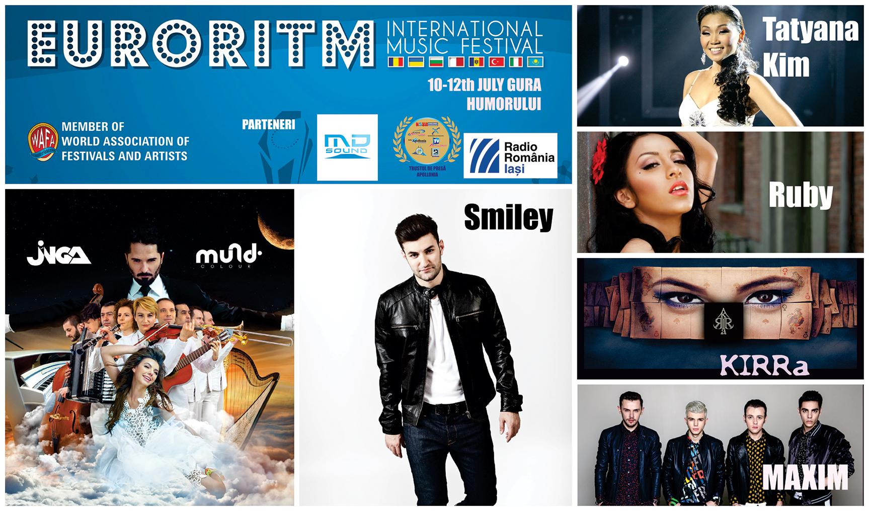 S-AU STABILIT FINALIȘTII FESTIVALULUI INTERNAȚIONAL DE MUZICĂ PENTRU TINERET EURORITM 2015!