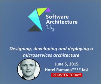 Sander Hoogendoorn ajunge la Software Architecture Day Iași