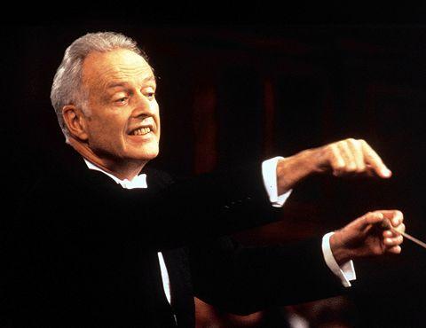 AUF ARTE AM 16/05/1999 UM 19.00 UHR Kleiber dirigiert Brahms: 4. Symphonie BU 1 : Carlos Kleiber dirigiert Brahms und Beethoven Foto : ZDF