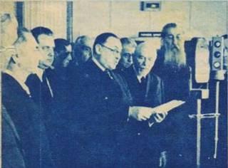 "Ion Petrovici la deschiderea ""Radio Moldova"""