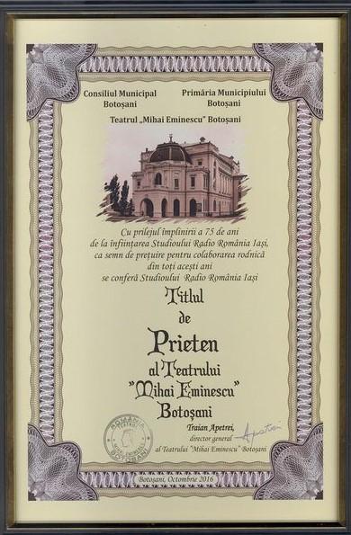 radio-iasi-titlul-de-prieten-al-teatrului-mihai-eminescu-botosani