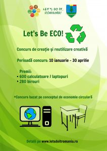 Poster Let's Be ECO!