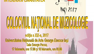 Colcoviu National Muzicologie 2017