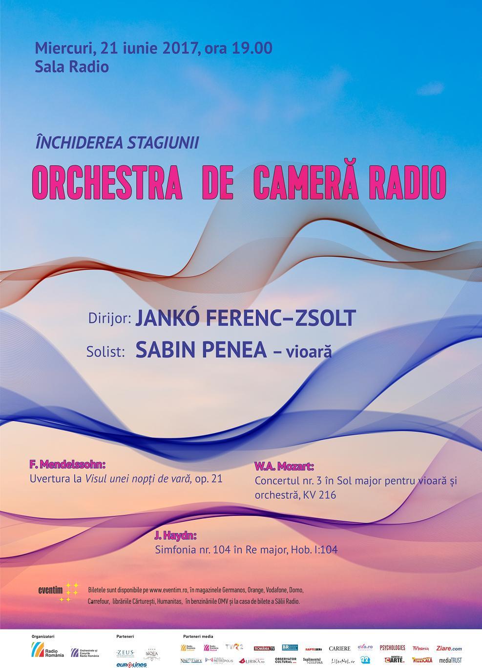 Afis OCR concert 21 iunie