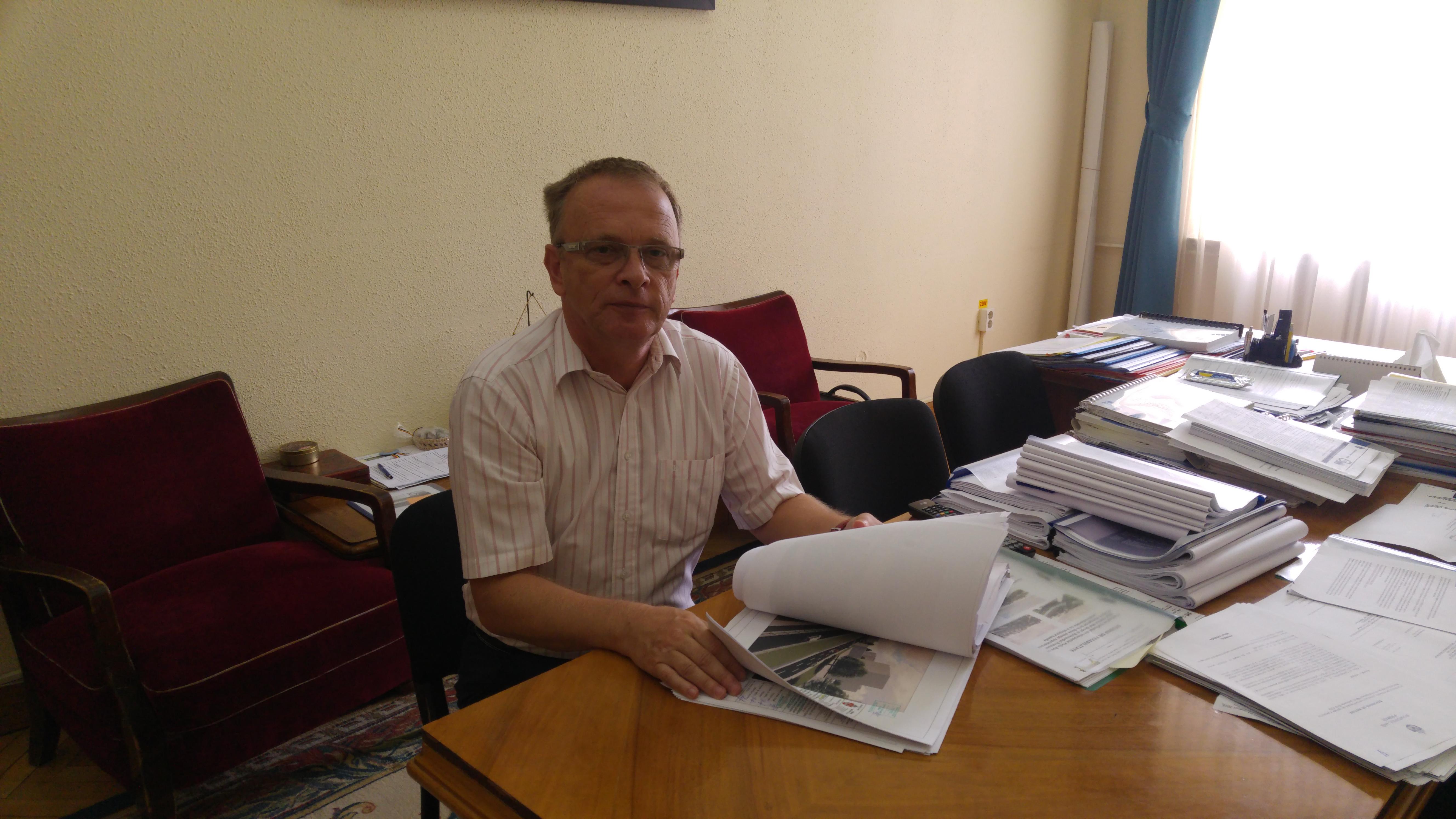 Radu Botez, viceprimarul Iașului